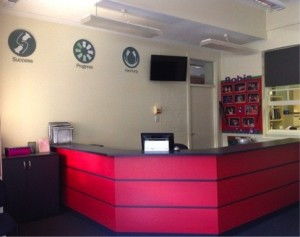 Refurbished Front Office